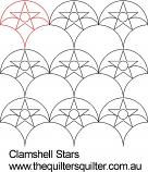 clamshell Stars Panto