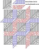 Sharons modern quilt set