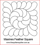Maxines Feather square