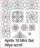 Allys Scroll Mini set