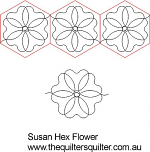 Susans Hex flower