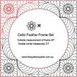 Celtic Feather Frame