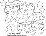 Drama Mask Panto