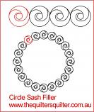 Circle Sash Filler