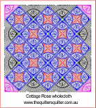 Cottage Rose Wholecloth