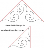 Susans Swirly Triangle Set