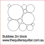 Bubbles 2in block