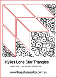 Kylies Lone Star Triangles