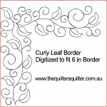 Curly Leaf Border