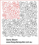 Swirling Bloom Panto