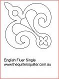 Engish Fluer Block
