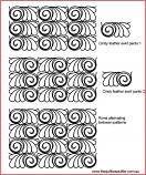 Cindys Feather swirl panto