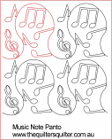 Music Note panto