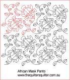 African Mask Panto