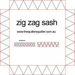 Zig Zag Sash P2P